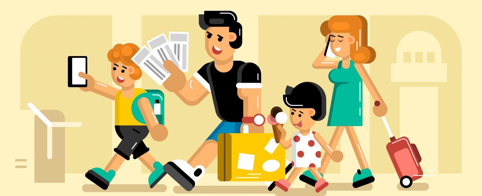 Едем в отпуск: гардероб для всей семьи в Lamoda