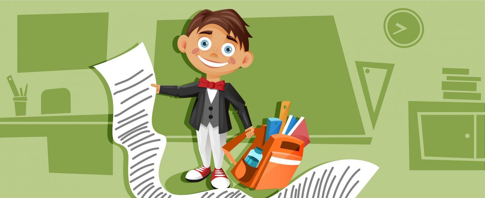 Собираем ребенка в школу: список вещей + шпаргалка, как сэкономить