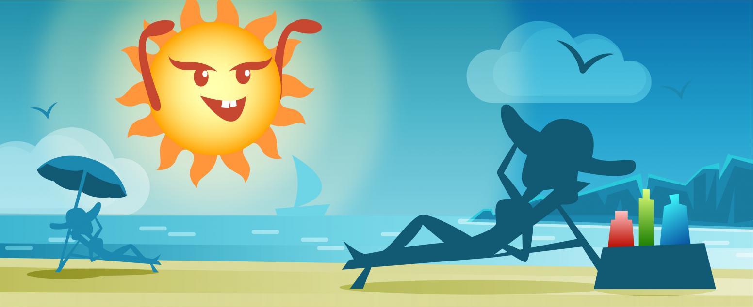 Осторожно, лето! Защитные средства для лица, волос и тела
