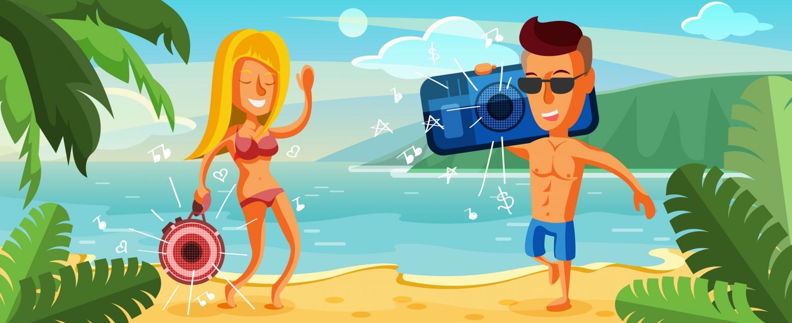 Топ портативных колонок для пляжа: оставайся на своей волне