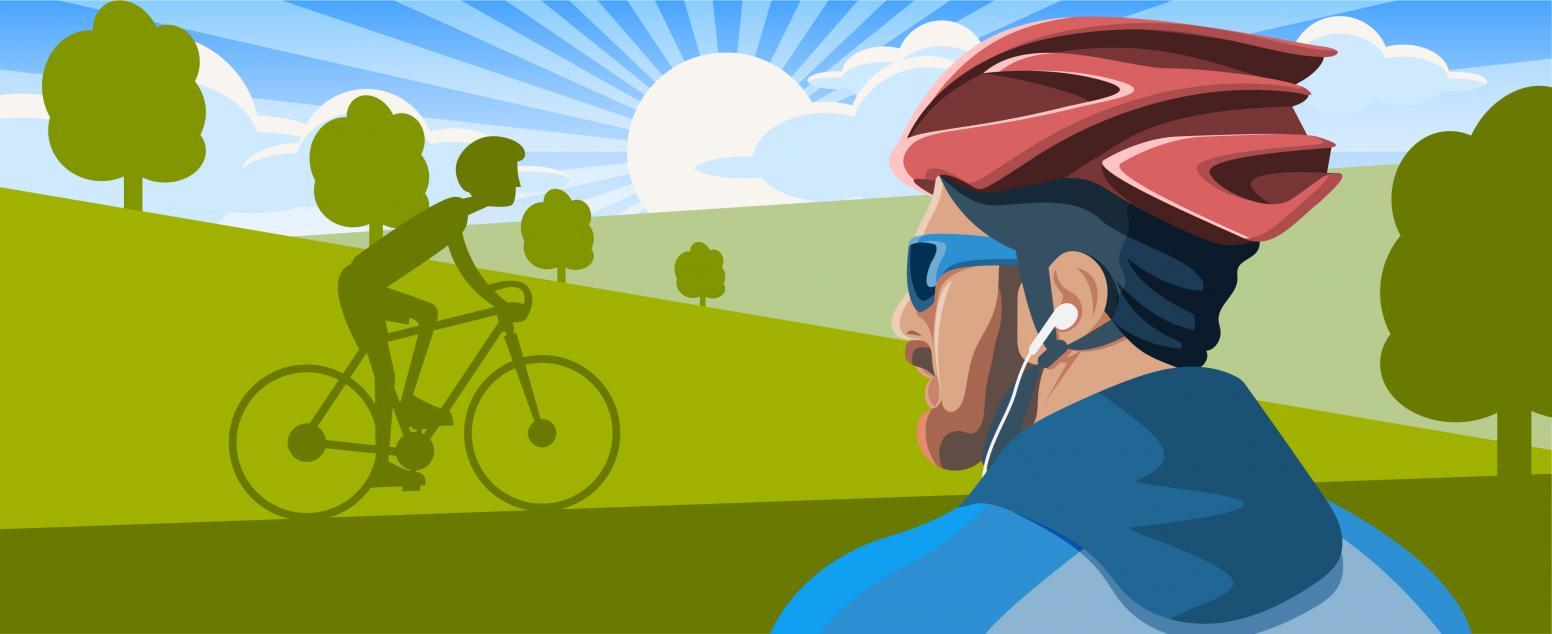 Ухо востро! Подборка наушников для велосипедистов